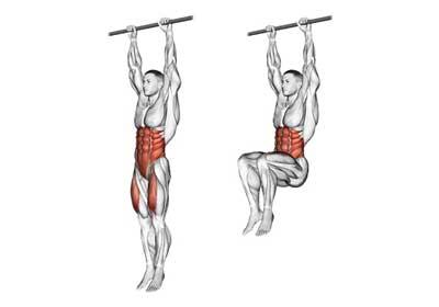 Bài tập Hanging Leg Raise