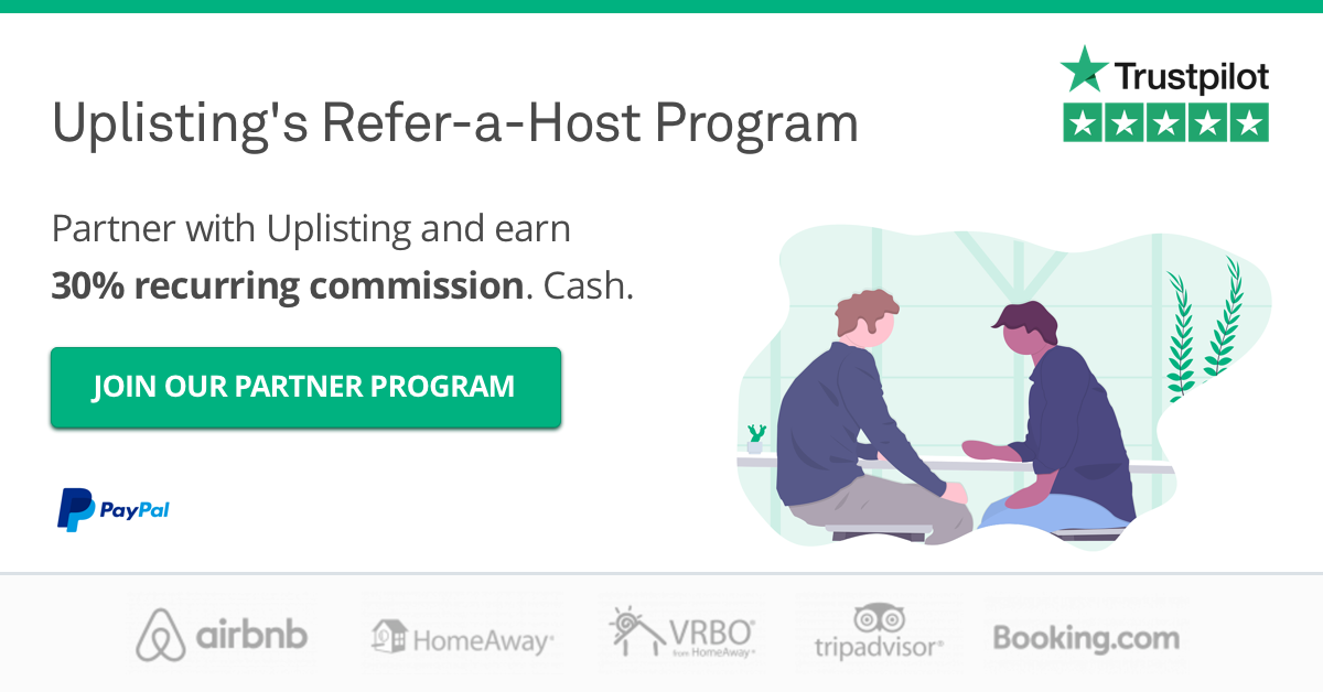 Uplisting's Refer-a-Host Program