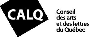 Logo du Conseil des arts et des lettres du Québec.