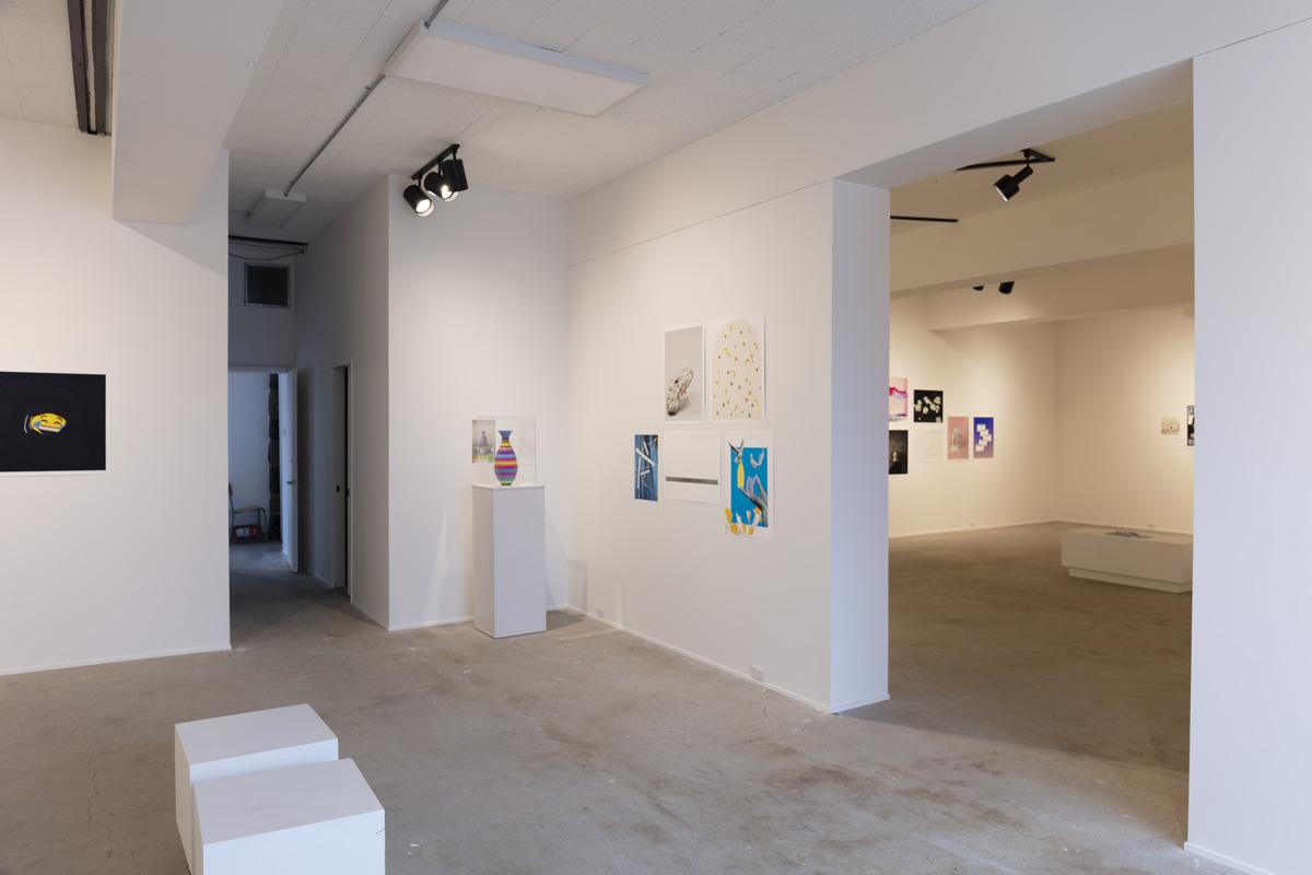 Vue du studio et de la salle d'exposition du Centre SAGAMIE