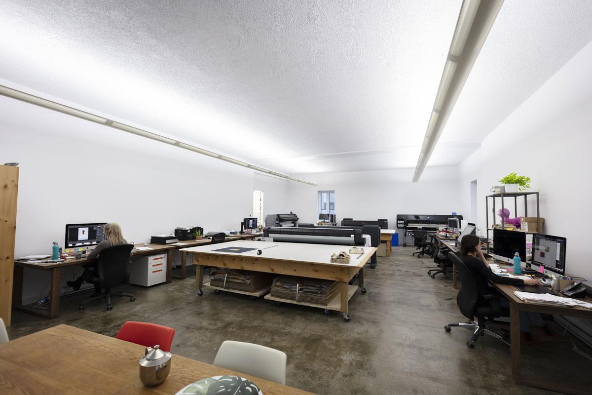 Atelier de production du Centre SAGAMIE