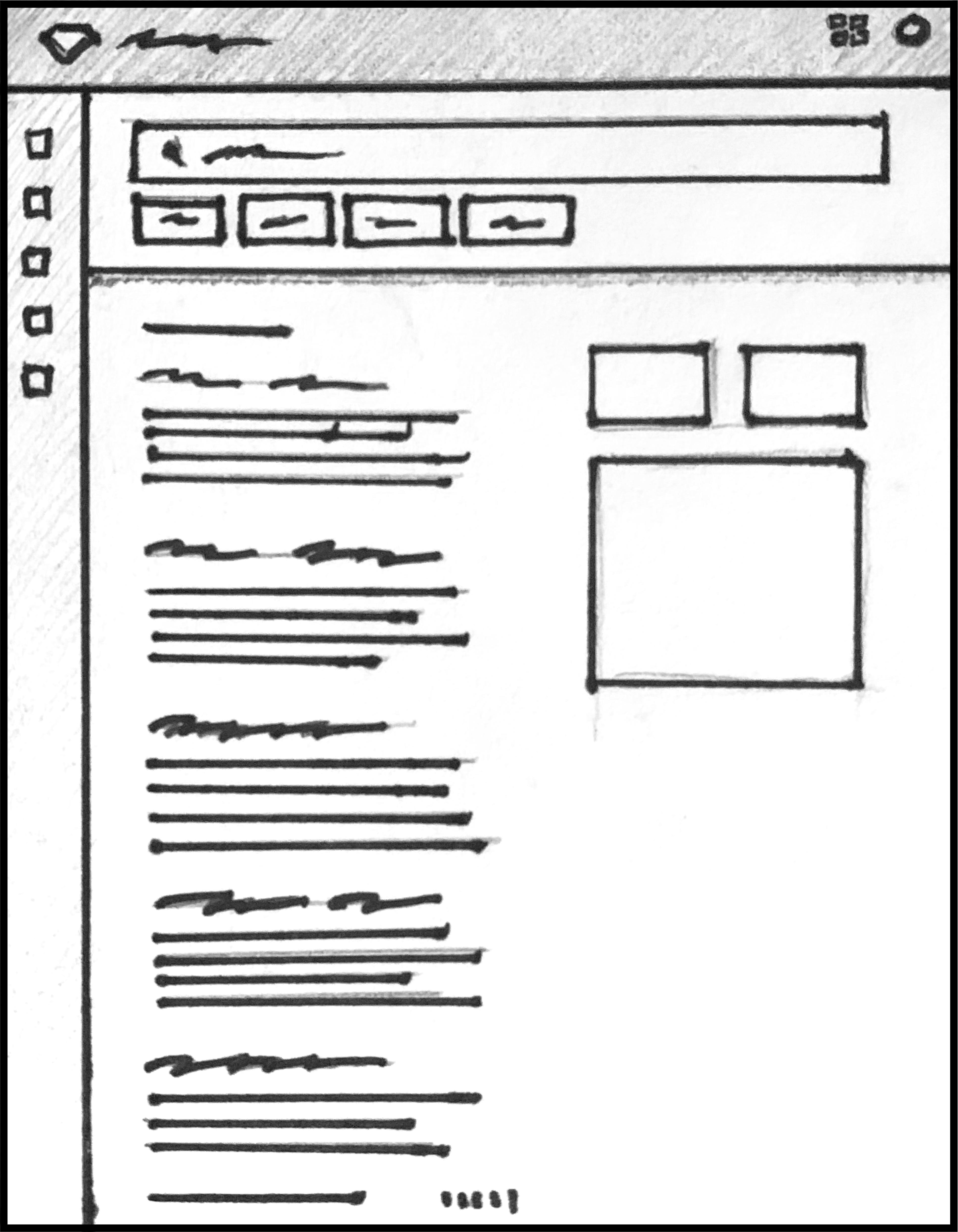 Bluemine Paper prototype