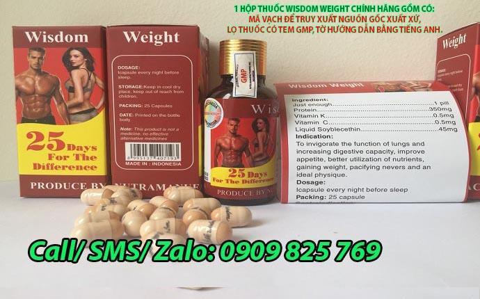 Vitamin Wisdom Weight mua ở đâu đảm bảo hàng chính hãng?