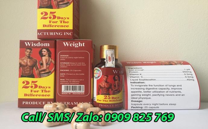 Mua thuốc tăng cân Wisdom Weight ở Quảng Ninh