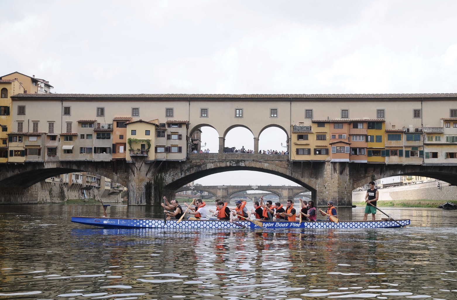 Team building activity in Florence