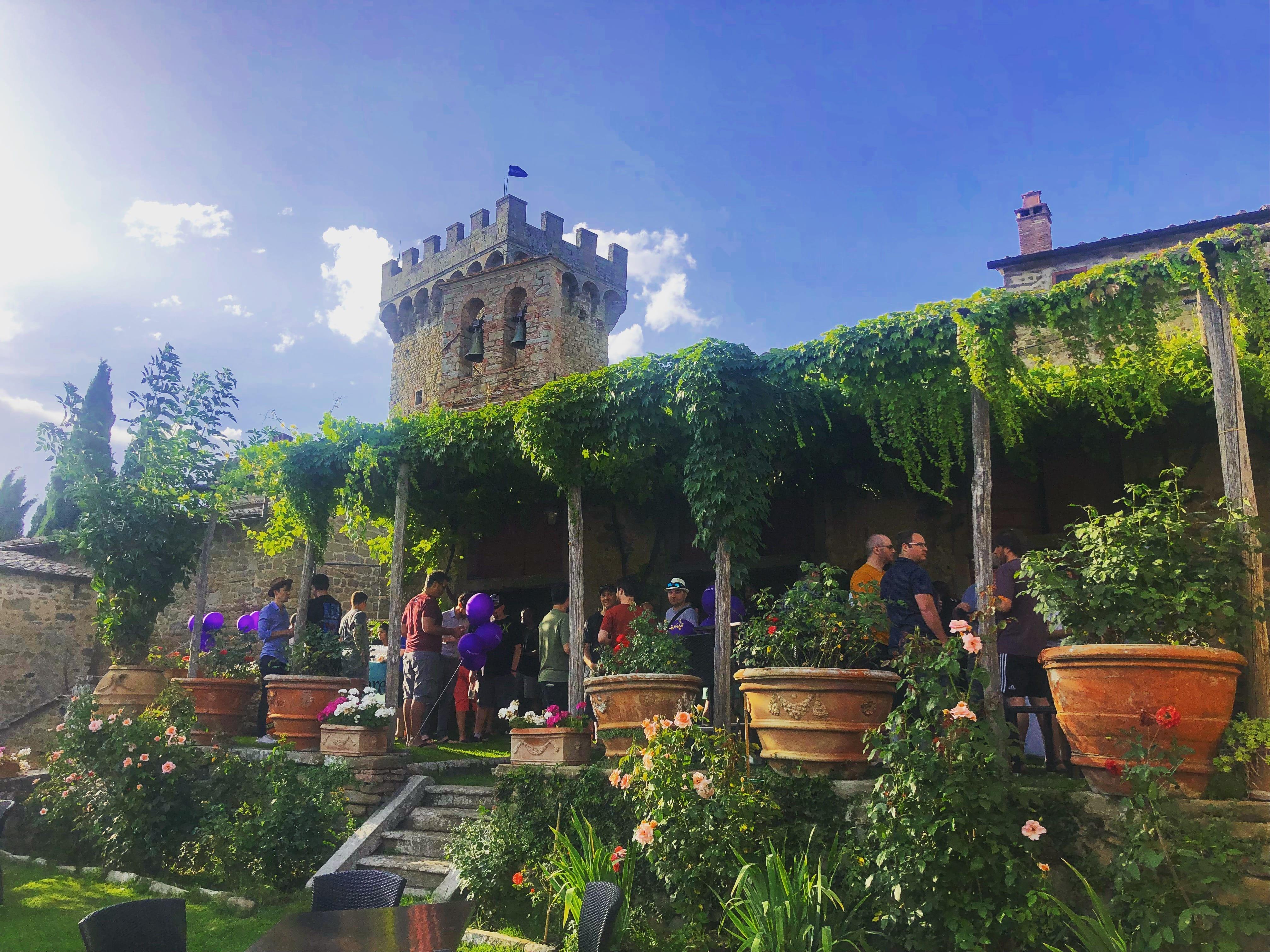 Company retreat in Tuscany