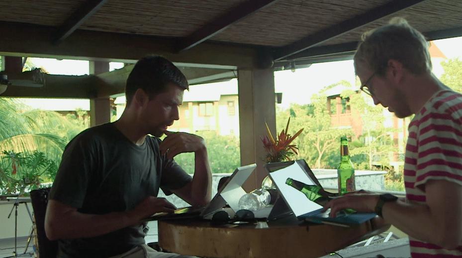 Company retreat in Honduras