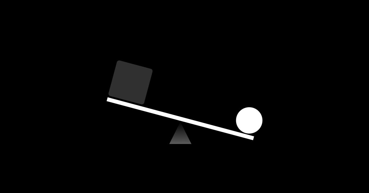 Vizuální rovnováha vnávrhu UI