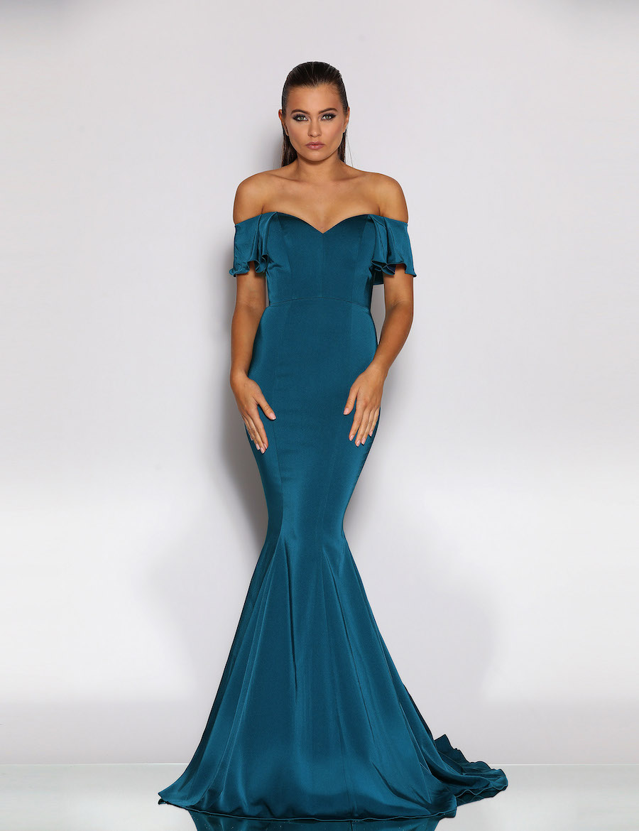 Beautiful off the shoulder gown