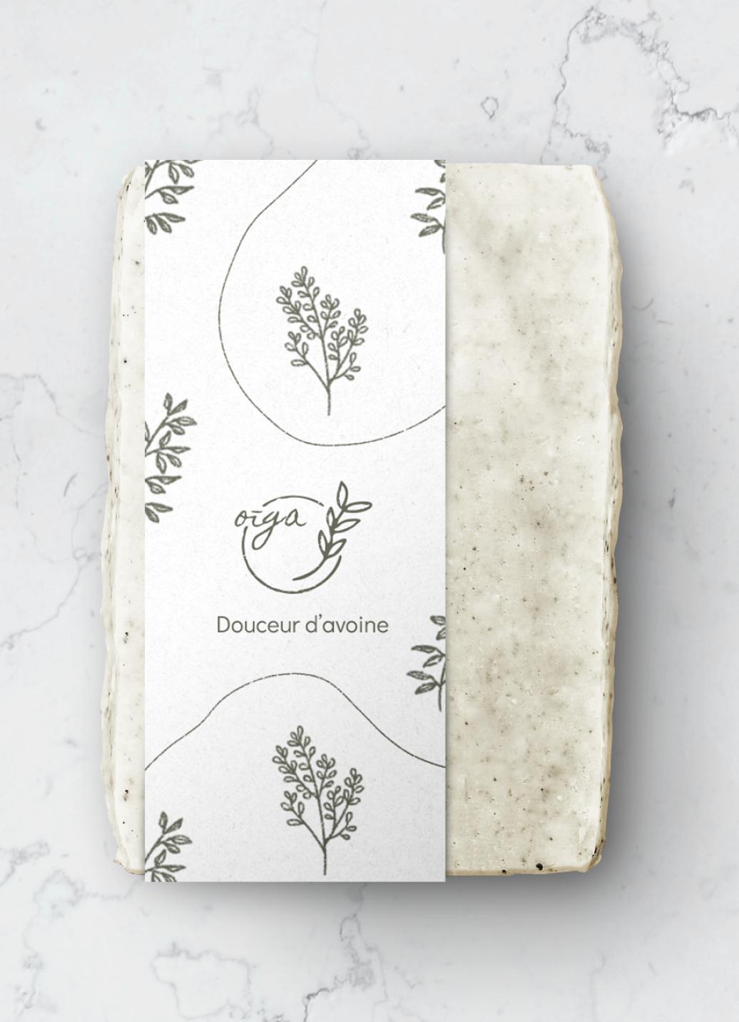Packaging avec le motif de la marque