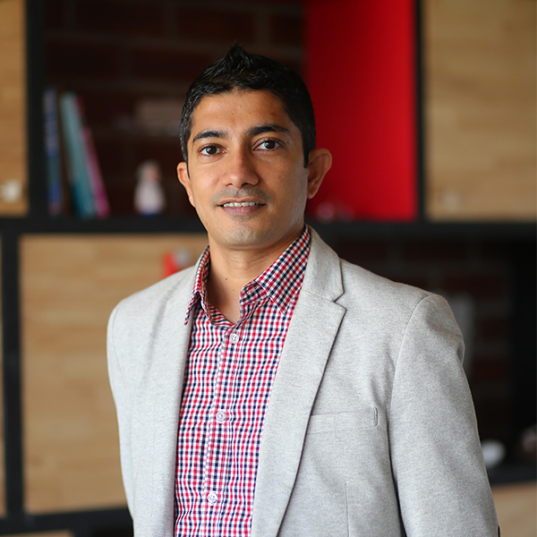 Accelerator Centre CEO, Jay Krishnan