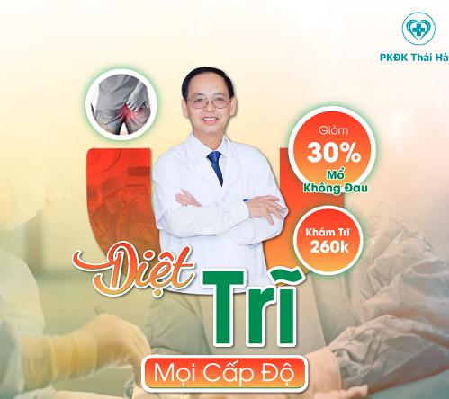 Phòng khám bệnh trĩ uy tín tại Hà Nội