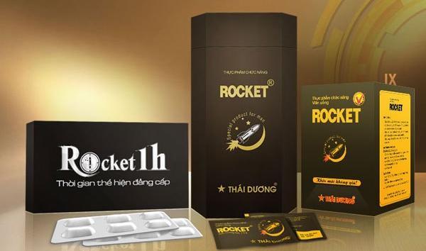 8. Thuốc cường dương Rocket 1 giờ