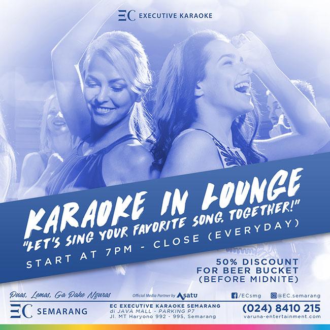 Karaoke in Lounge