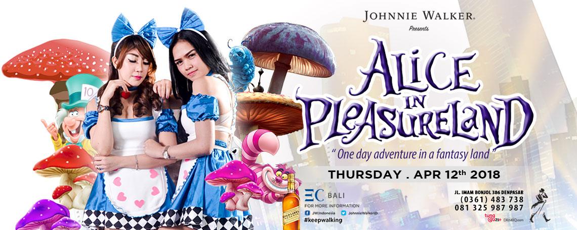 Temukan Alice di Pleasure Land EC Karaoke Bali