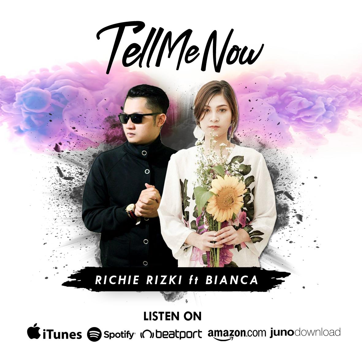 Resident DJ Babyface, Richie Rizki gandeng Fasyabianca dalam Single 'Tell Me Now'