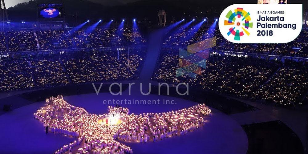 Opening Ceremony Asian Games 2018 Pukau Milyaran mata di seluruh dunia