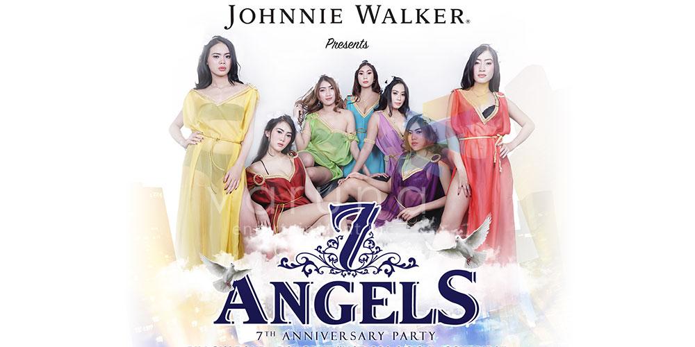 7 Angels di Anniversary ke 7 EC Cilacap