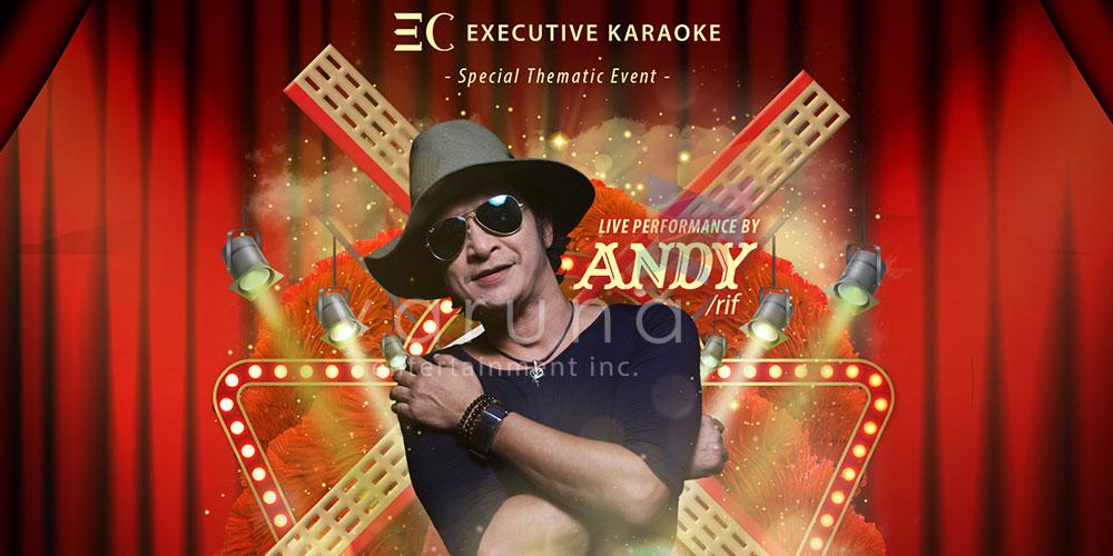 Andy Rif siap meriahkan Moulin Rouge di EC Bali