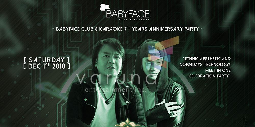 Ari Lasso dan Dimas Andrean akan ramaikan Anniversary ke 7 Babyface Club & Karaoke dalam Magnificent 7