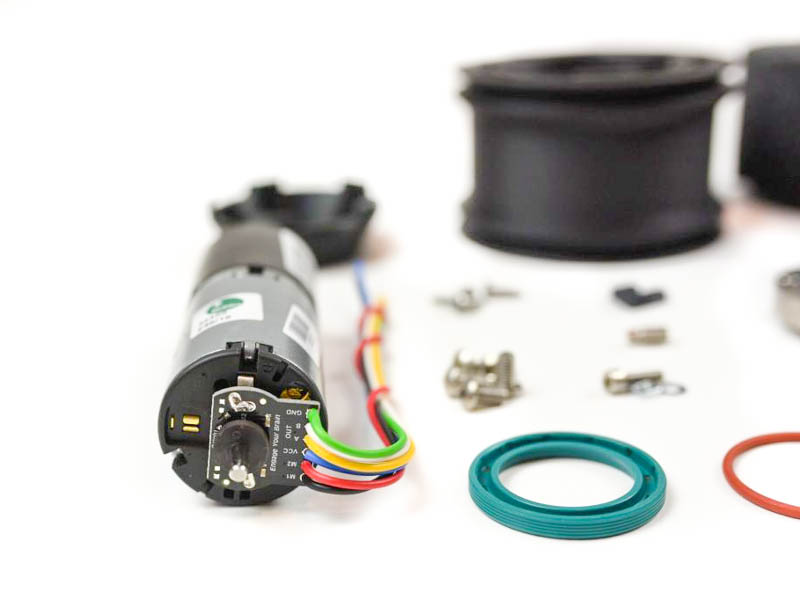 leo rover motor with encoder