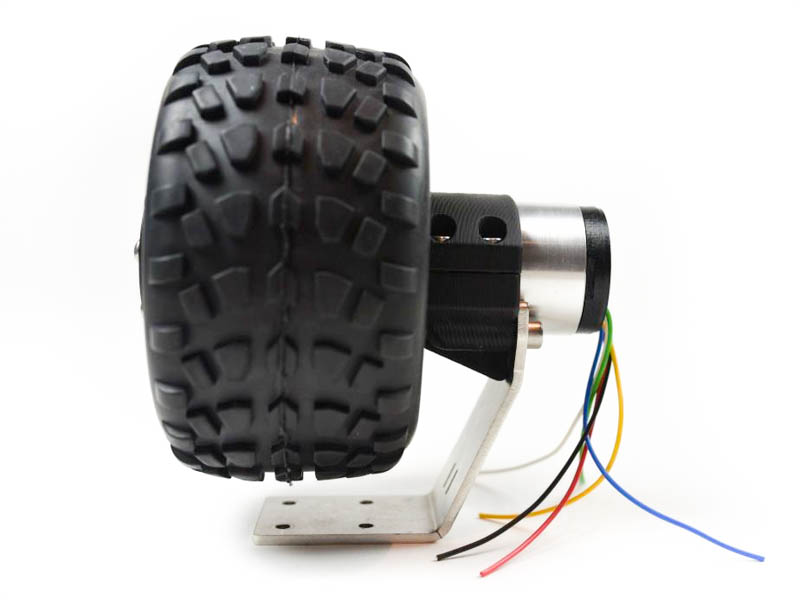 wheel with dc motor