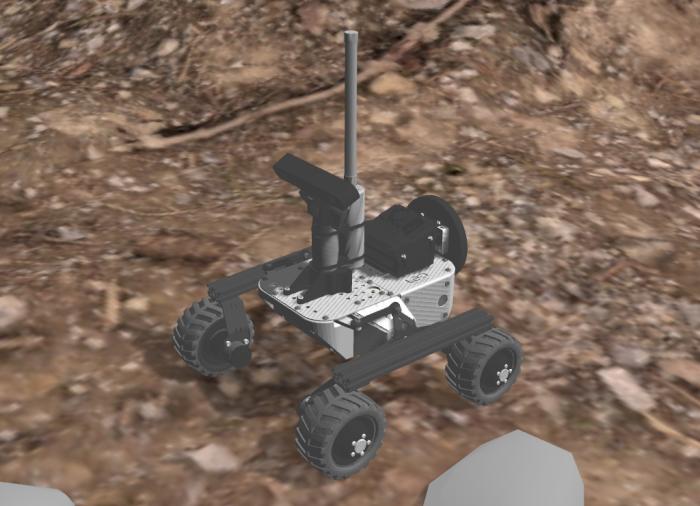erc gazebo mars rover