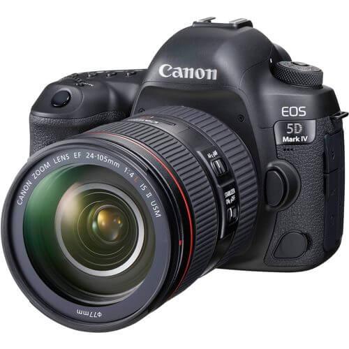 Canon  EOS 5D Mark IV avec Objectif EF 24-105mm F4L IS II USM