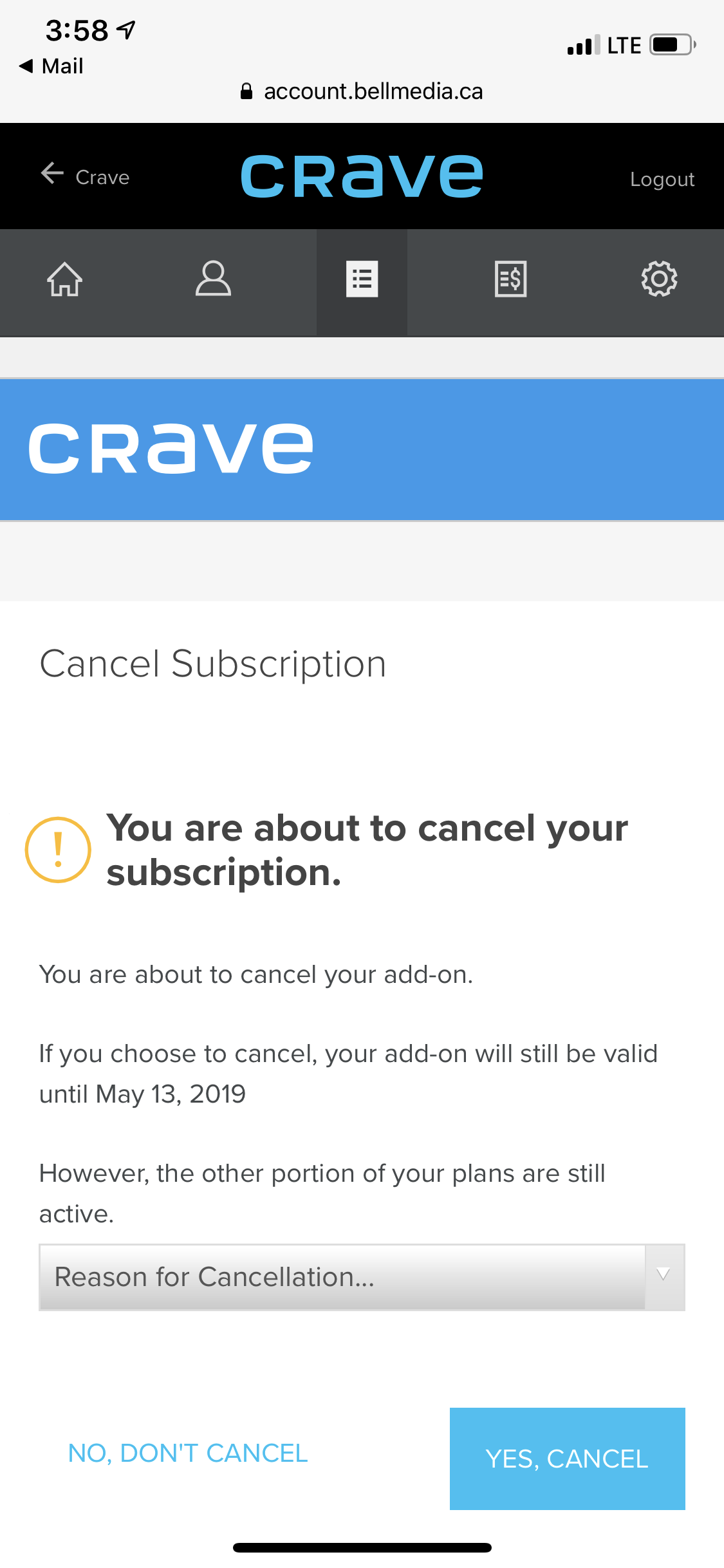 norton antivirus subscription cancellation