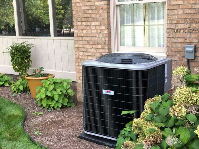 HVAC Unit installed by Good Guys Heating & Air Conditioning
