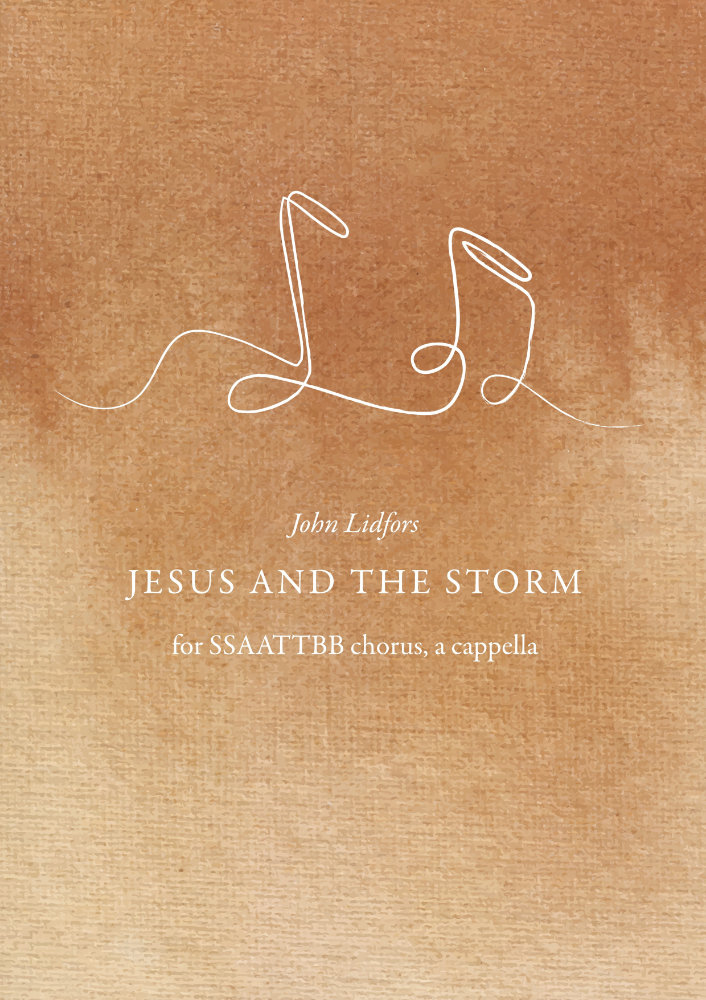 jesus and the storm john lidfors