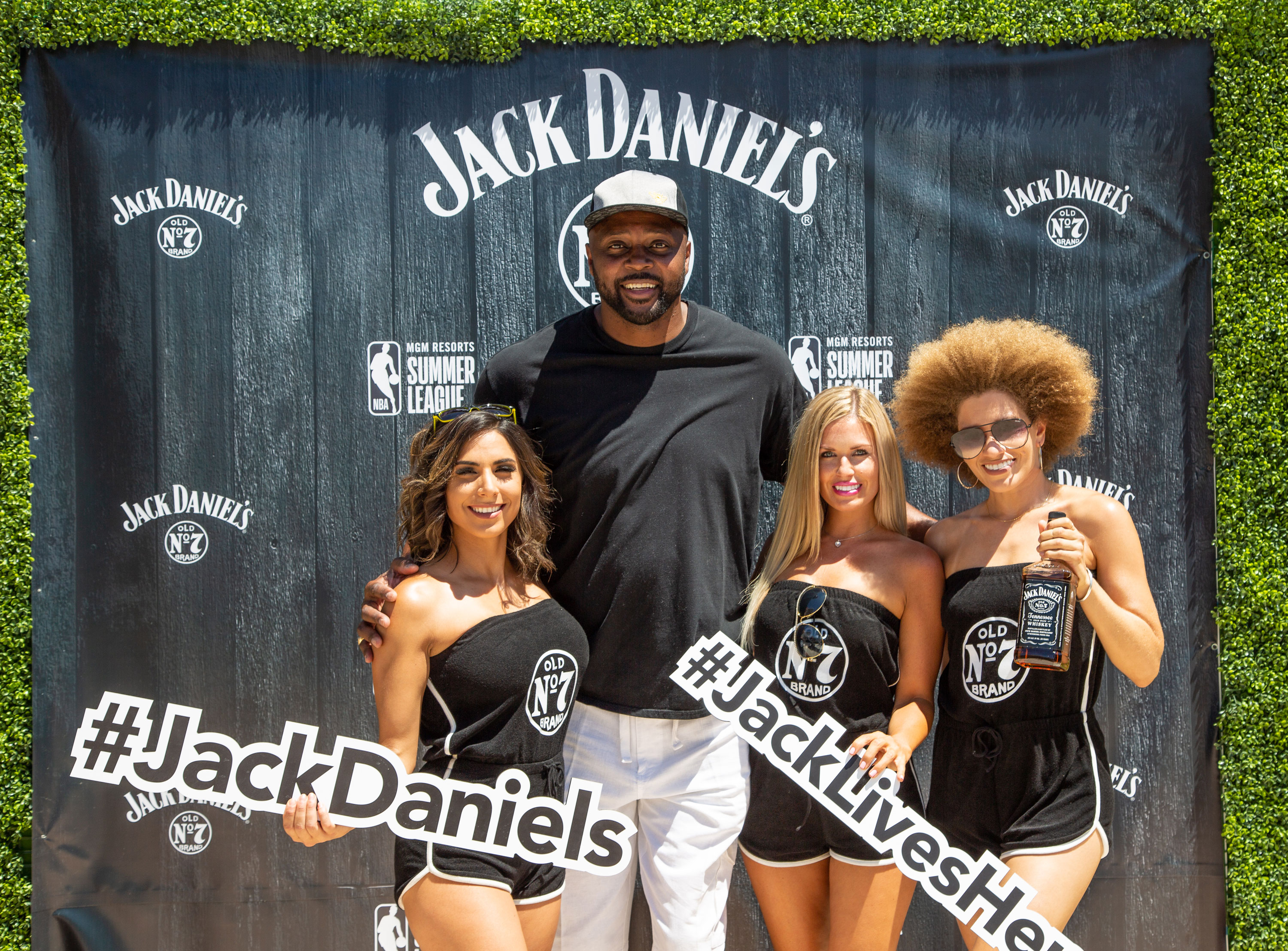 Hores Grant at Jack Daniel's NBA Summer League
