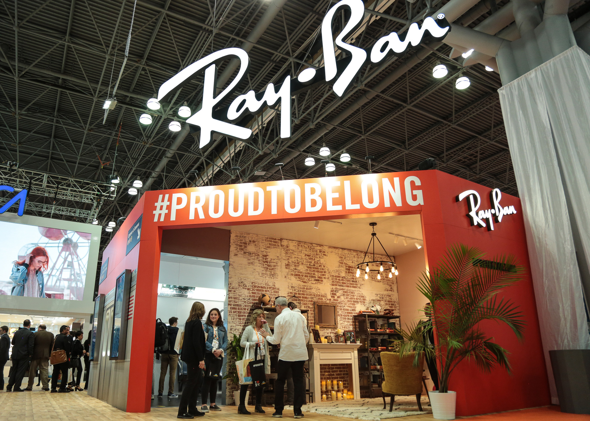 Ray Ban Show Booth
