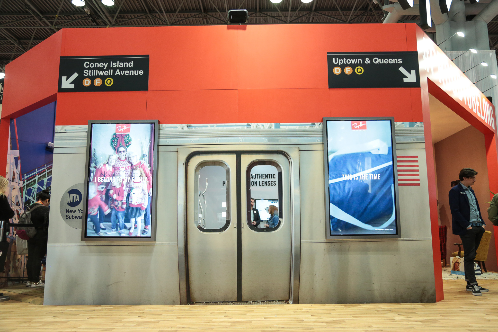 Ray Ban Event - New York Subway Station Photo