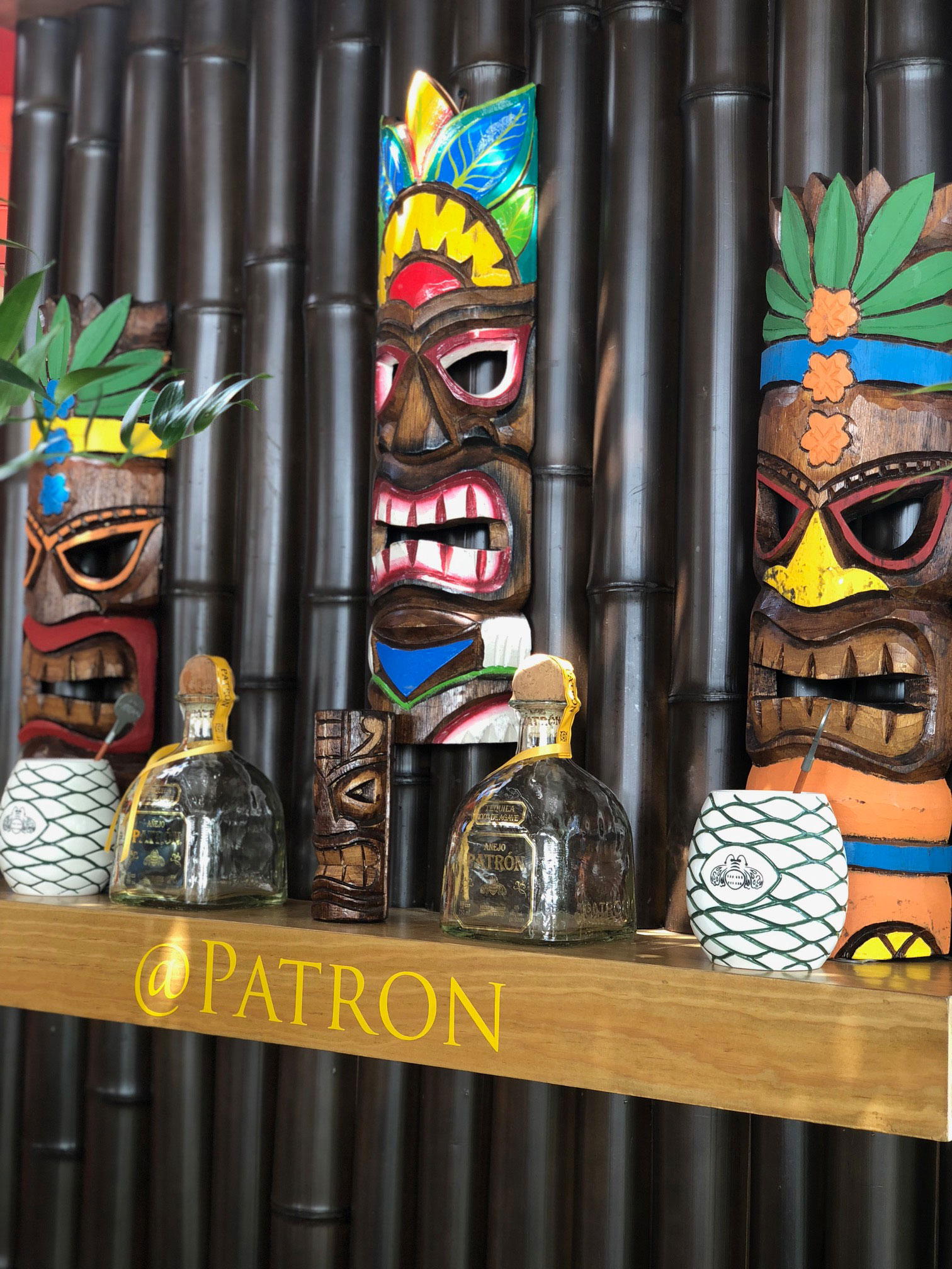Patron Tequila Tiki Bar