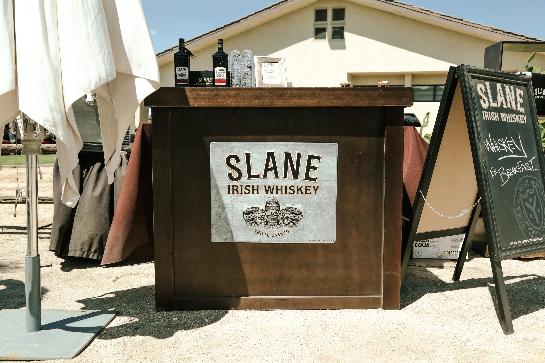 Slane Irish Whiskey bar at One Oak Coachella Closing Party