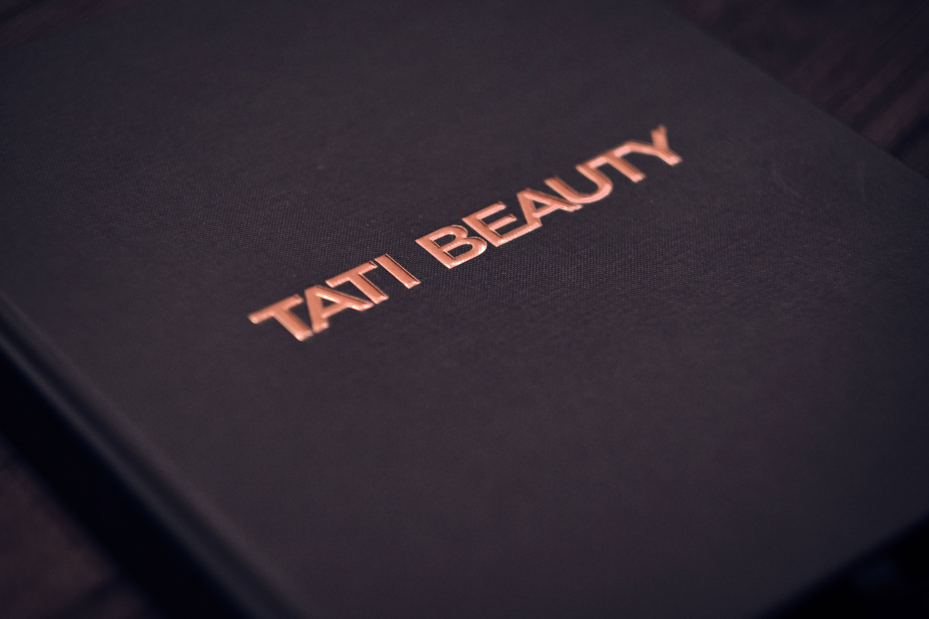 Tati Beauty Eyeshadow Pallet Launch