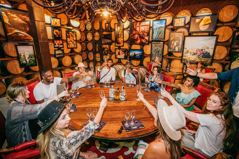 Herradura Esquire Masterclass Bartender Legends tasting room