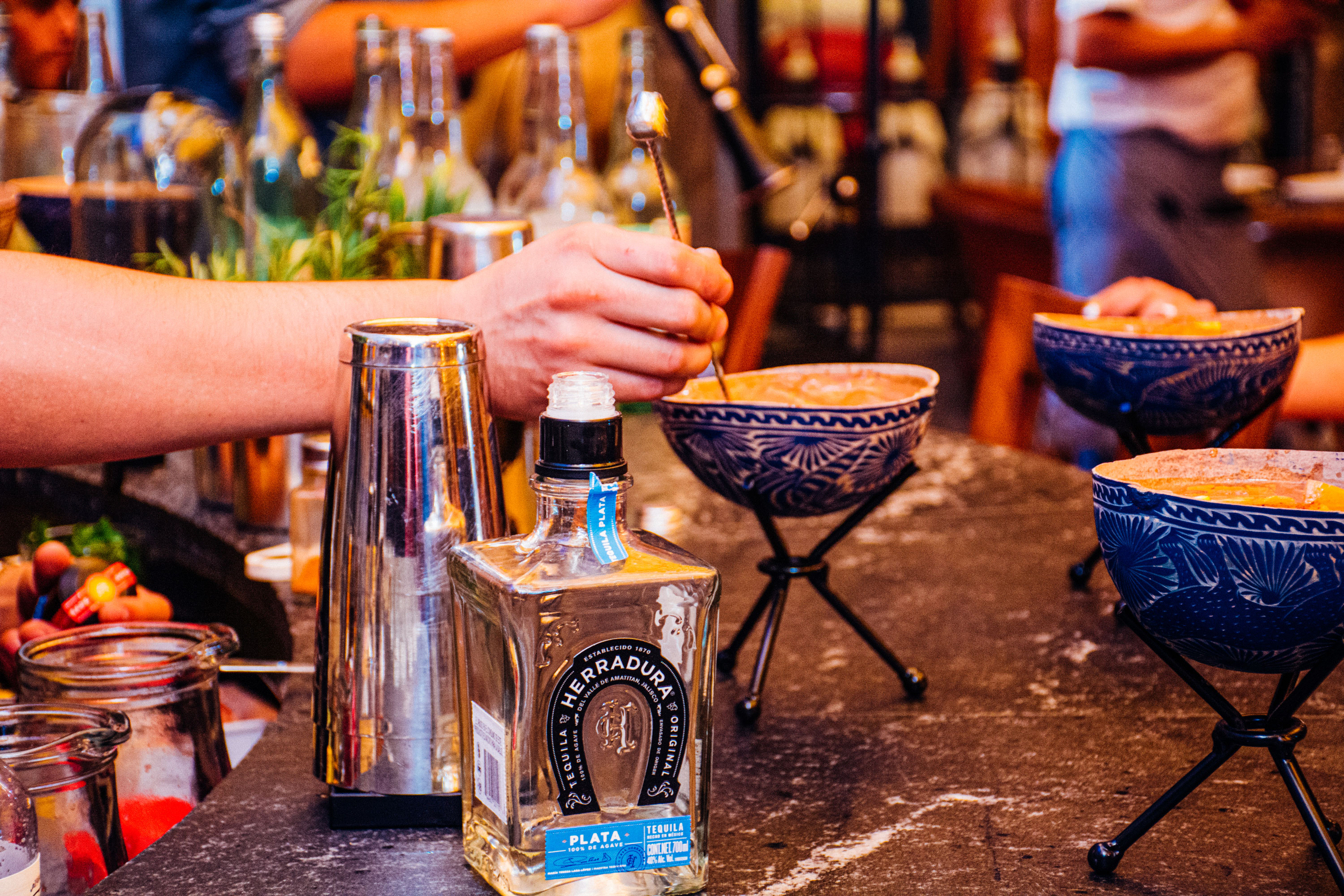 Herradura Esquire Masterclass Bartender Legends Event