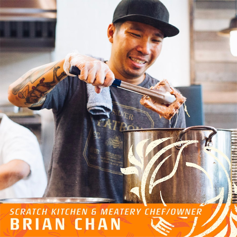 scratch kitchen brian chan for taste of paradise event