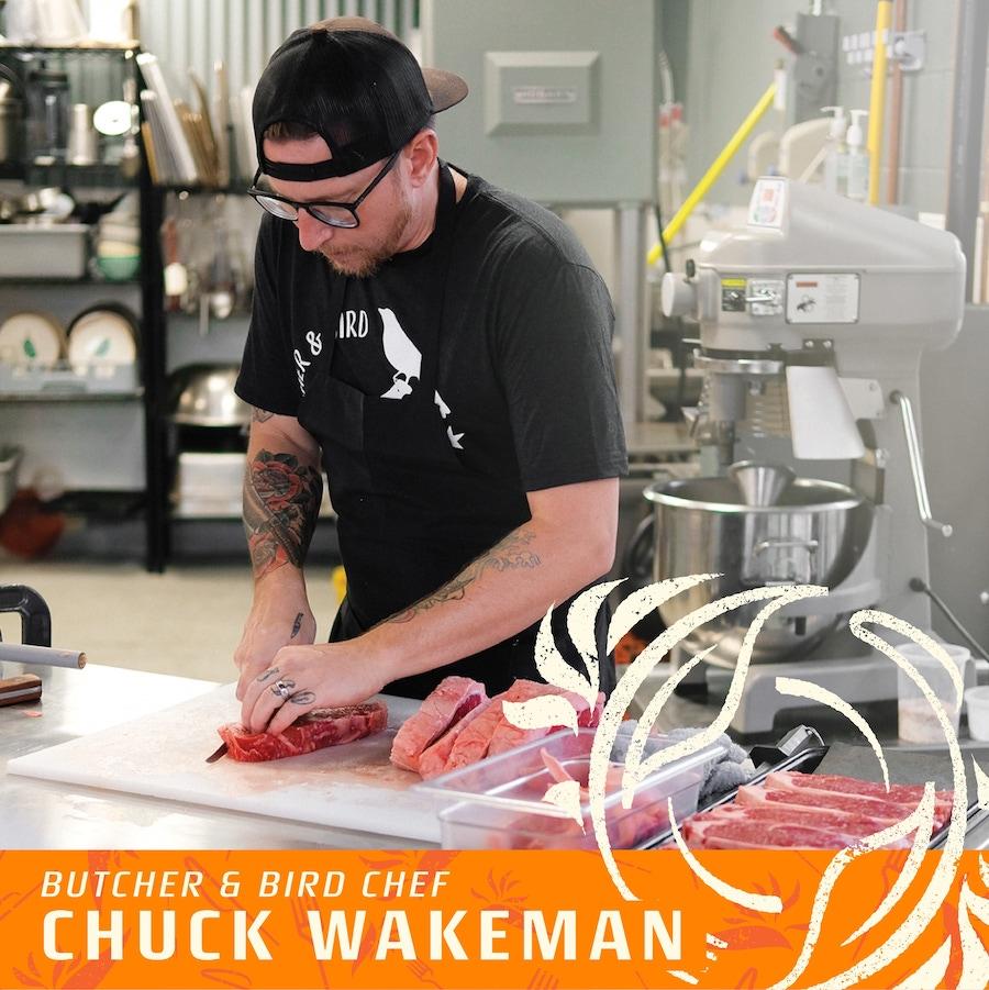 butcher and bird chuck wakeman