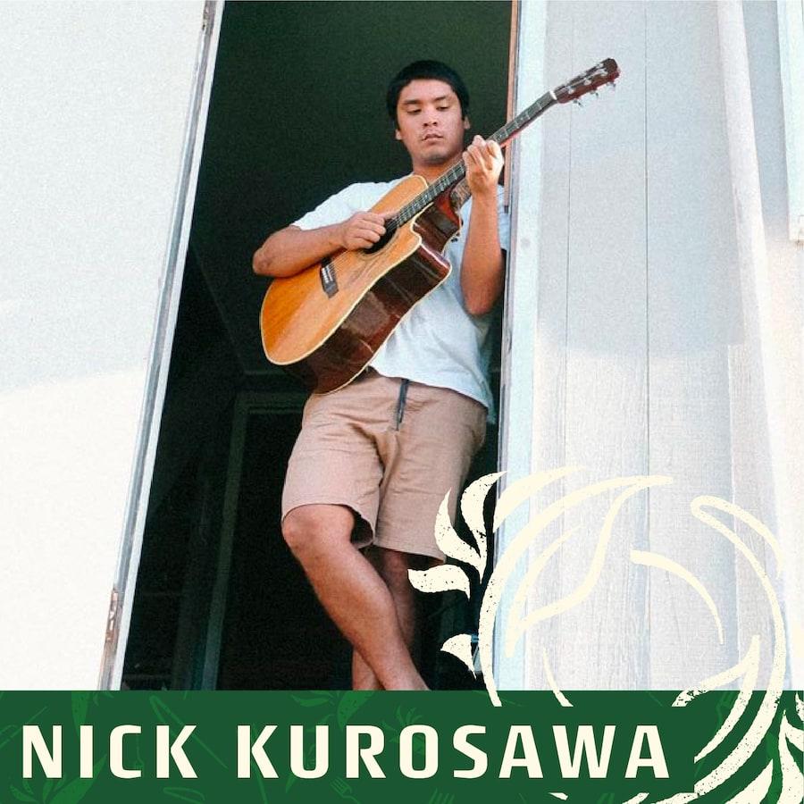 Nick Kurosawa live entertainment at taste of paradise