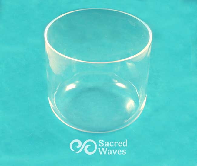 Clear Kaliski Bowl - Flat Bottom