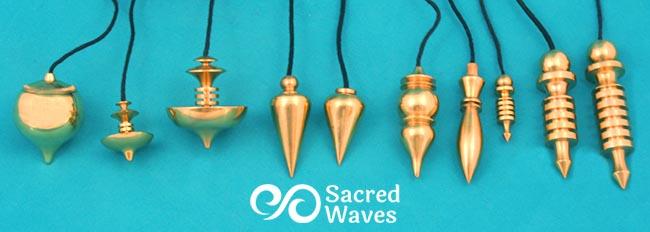 10 Brass Pendulums