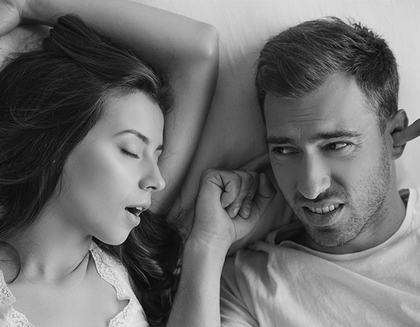 Obstructive sleep apnea can be a huge problem in the lives of couples.