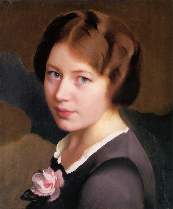 William McGregor Paxton's Pink Rose