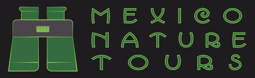 Mexico Nature Tours New Dark Logo by Al B Goldin