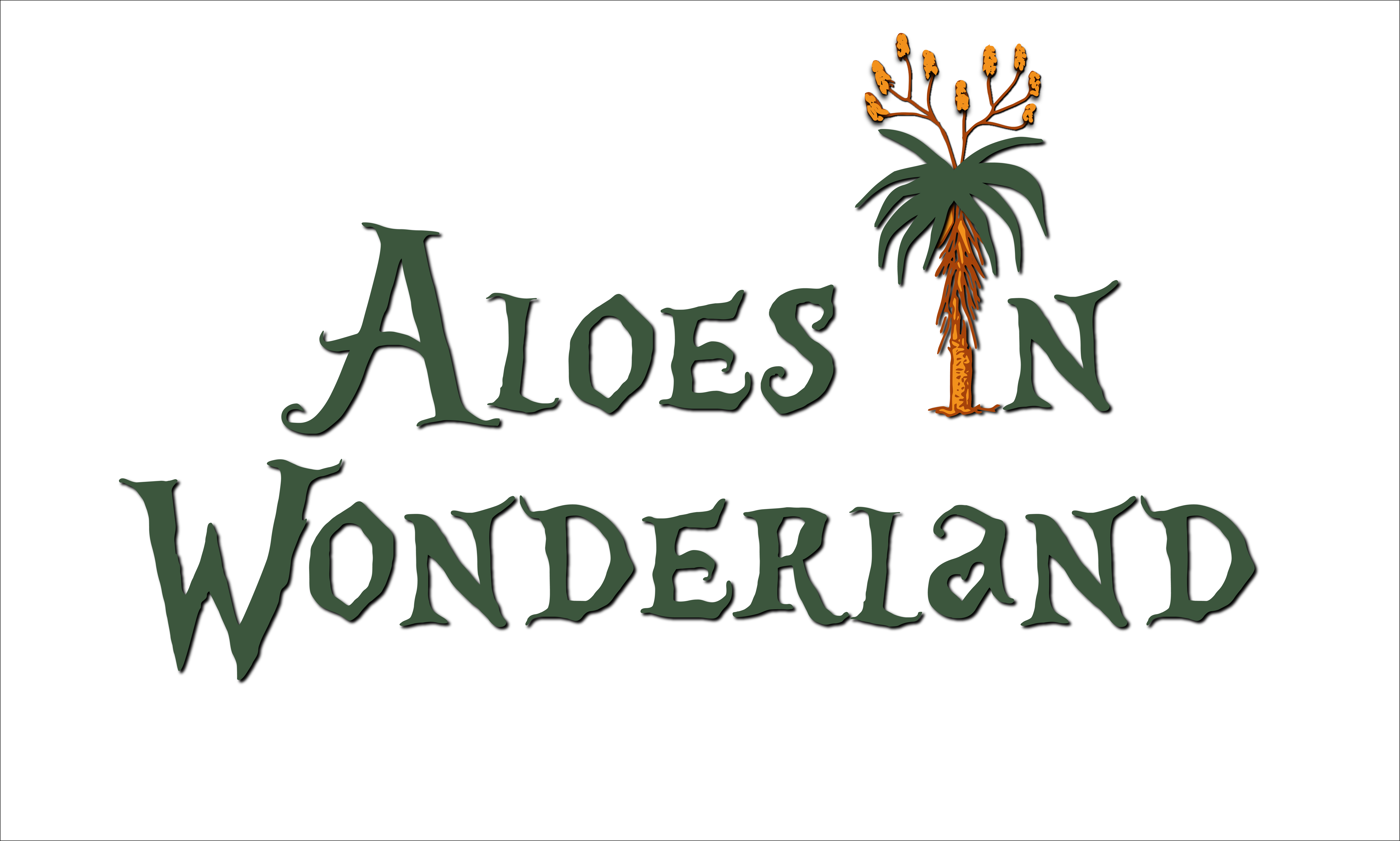Aloes in Wonderland Logo by Al B. Goldin