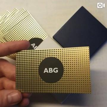 Al B Goldin _ Personal Business Cards