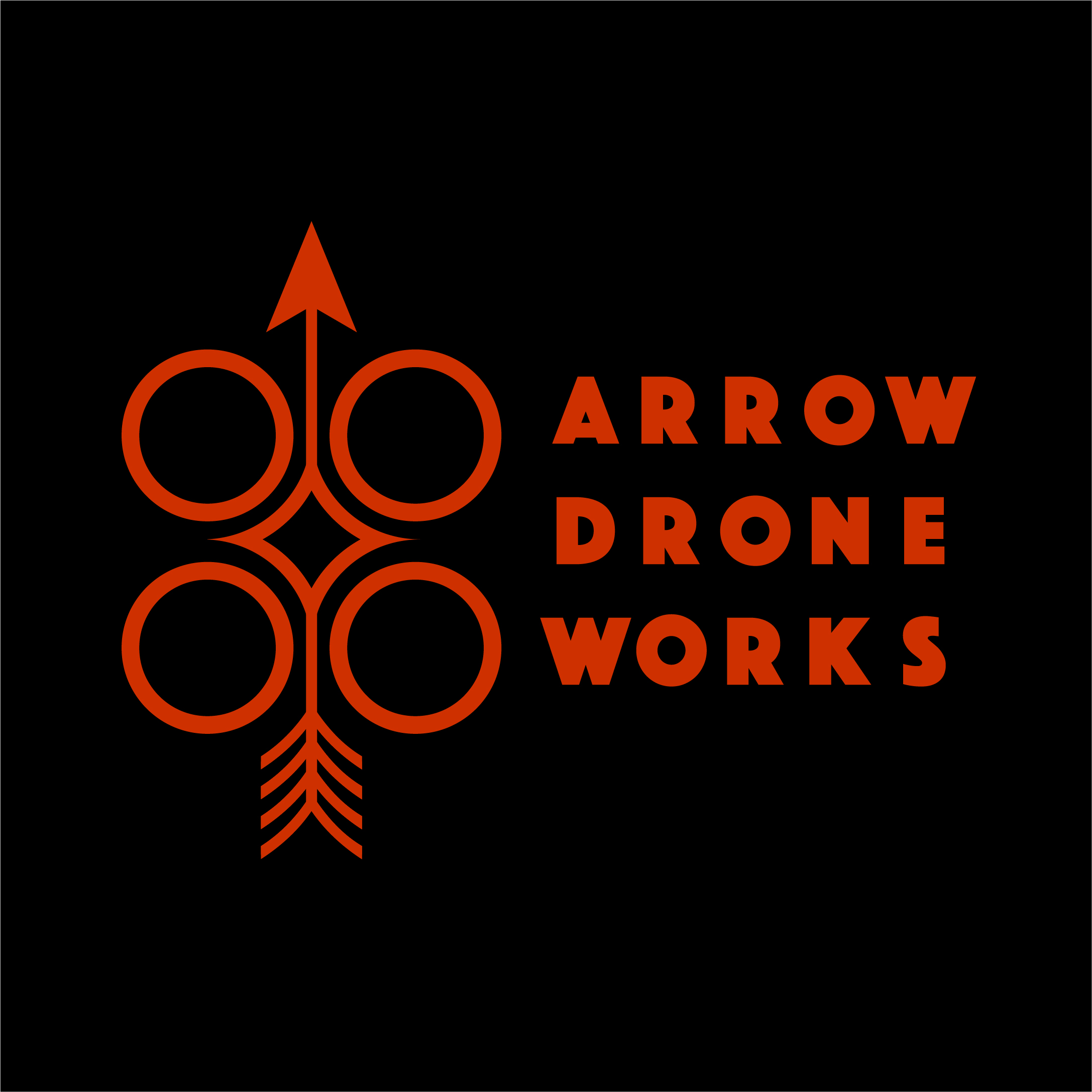 Al B Goldin _ Logo for Arrow Drone Works